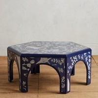 Meadowscape Coffee Table by Anthropologie in Navy Size: Coffee Table Furniture