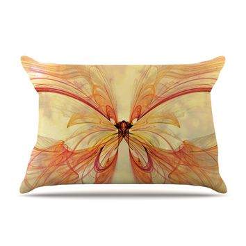 "Alison Coxon ""Papillon"" Pillow Case"