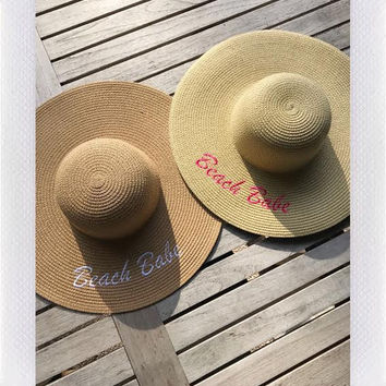 BEACH BABE SUN HAT- MORE COLORS from shopoceansoul
