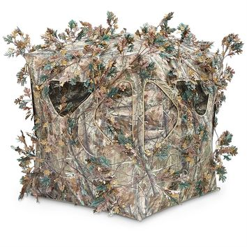 Wolf's Den 5-Hub Blind - 652734, Ground Blinds at Sportsman's Guide