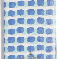 kate spade new york 'stamp dot' faux leather passport holder | Nordstrom
