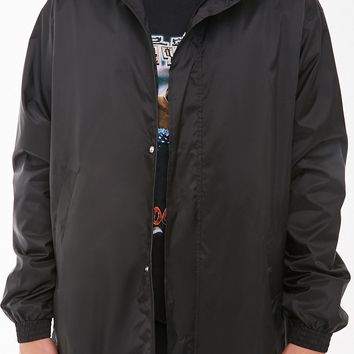 Longline Nylon Windbreaker