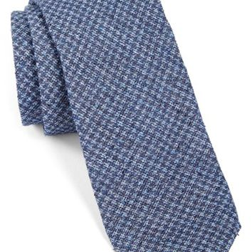 Men's Todd Snyder White Label Houndstooth Cotton Tie, Size Regular
