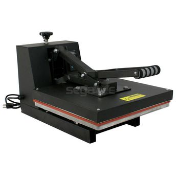CLAMSHELL HEAT PRESS T-SHIRT Digital TRANSFER