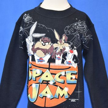 90s Space Jam Tune Squad Sweatshirt Youth Small