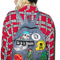 Kittiya Naranong Take My Skull Backpack Denim One