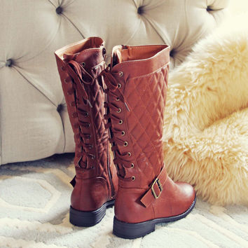 Laced & Tied Boots