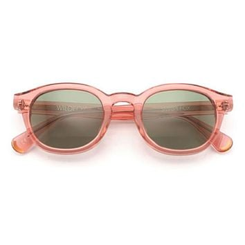 Wildfox Smart Fox Rosewater Sunglasses