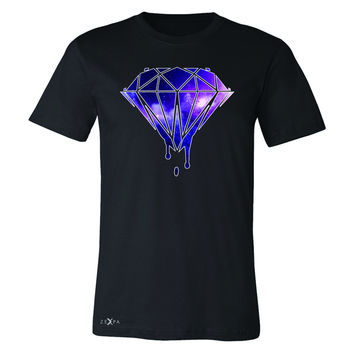 Zexpa Apparel™ Galaxy Diamond Bleeding Dripping Men's T-shirt Cool Design Tee
