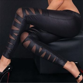 Jenessa - Thin Slim Bandage Legging