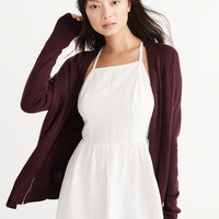 Womens Dolman Zipper Cardigan | Womens Tops | Abercrombie.com