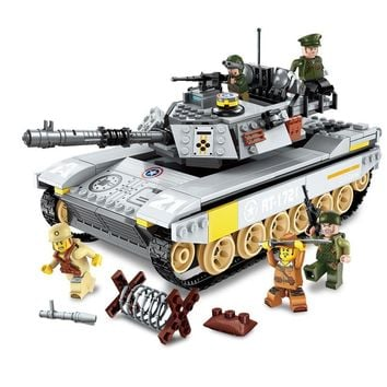 ENLIGHTEN Military Overlord Tank Dispatch WW2 Special Forces PUBG Figures Building Blocks Sets Kids Toys Compatible Legoings