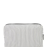 Pinstripe Makeup Bag | Forever 21 - 1000176731