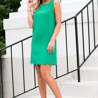 See You On The Dance Floor Dress, Kelly Green