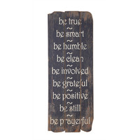 Be True Wall Decor
