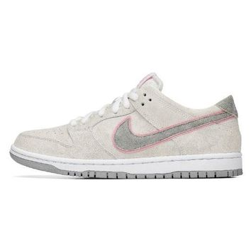Nike Sb Zoom Dunk Low Pro IW White Perfect pink