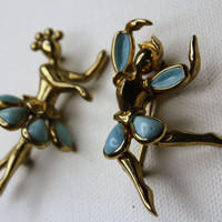 Vintage Trifari Brooch Alfred Philippe Petallettes by patwatty