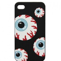 Bloody Eyeball Pattern iPhone 4 Case