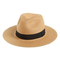 Leith Floppy Straw Hat
