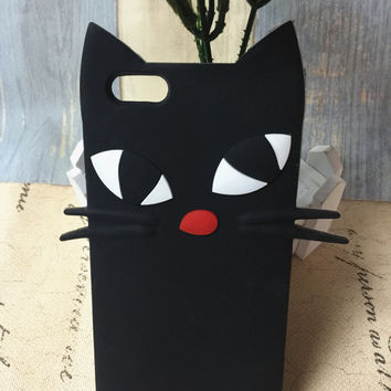 Stylish Cute Hot Deal Hot Sale On Sale Iphone 6/6s Cartoons Cats Apple Silicone Soft Phone Case [6034145089]
