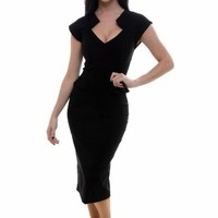 So Couture - Harvard Black Pencil dress