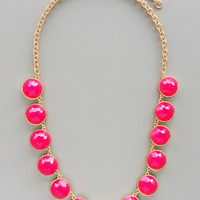 Hot Pink Katia Necklace