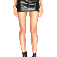 Helmut Lang Five Pocket Mini Skirt in Black | FWRD