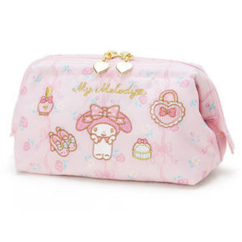 My Melody Wire Pouch M Rose ❤ Sanrio Japan