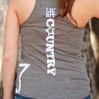 Lil' Bit Country | Essential Racerback Tank