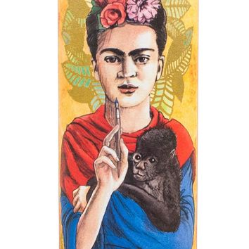 Frida Kahlo Secular Saint Candle
