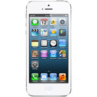 Walmart: Apple iPhone 5 16GB, White, for Straight Talk, No Contract