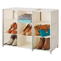 Whitmor 9-Compartment Collapsible Closet Shelves