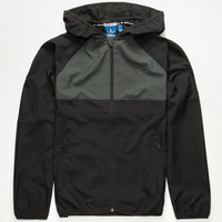 Adidas Adv Mens Windbreaker Black/Grey  In Sizes