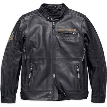 Harley-Davidson® Mens 115th Anniversary Limited Edition Leather Jacket 98000-18VM
