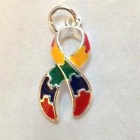 Puzzle Charm for Autism Awareness ASD and Asperger Awareness