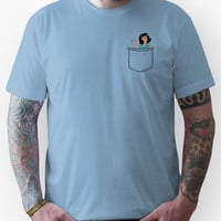 Pocket Tina Unisex T-Shirt