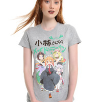 Miss Kobayashi's Dragon Maid Dragons Girls T-Shirt