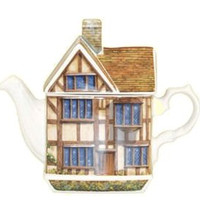 Shakespeare's Cottage Collectible Teapot