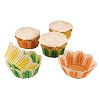 Pastel Fluted Cupcake LIners   Unique shape for cupcakes! Kitchen Krafts
