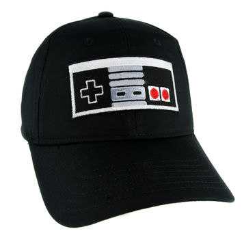 Nintendo Classic Controller Hat Baseball Cap Alternative Clothing Gamer Super Mario