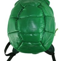 Teenage Mutant Ninja Turtles - Shell Backpack Green With 4 Masks