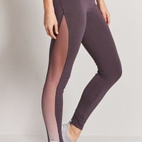 Active Mesh-Panel Leggings