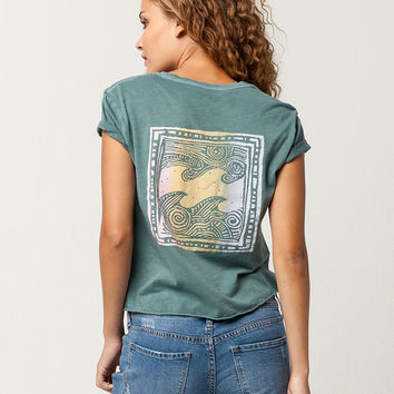 BILLABONG Palm Womens Crop Tee