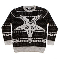 Hexmas Knit Sweatshirt | KILLSTAR