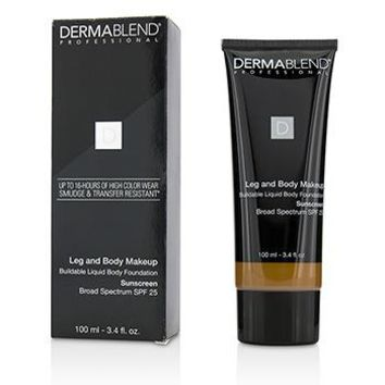 Dermablend Leg and Body Make Up Buildable Liquid Body Foundation Sunscreen Broad Spectrum SPF 25 - #Deep Golden 70W Make Up