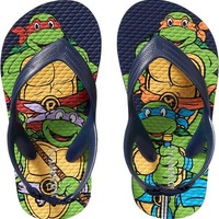 Old Navy Teenage Mutant Ninja Turtles Flip Flops For Baby