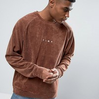 Puma Towelling Sweat In Brown Exclusive To ASOS 57532502 at asos.com