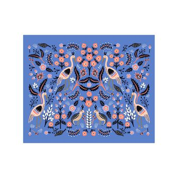 Folk Persian Art Print by RIFLE PAPER Co.   Made in USA
