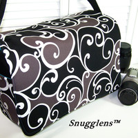 PreOrder camera bag Extra Large BOSS  14 x 10 x 6-Extended Size-Holds multiple cameras and lens-etc-SNUGGLENS