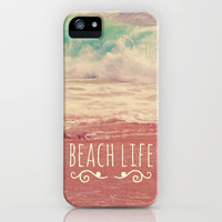 Beach Life iPhone & iPod Case by Josrick